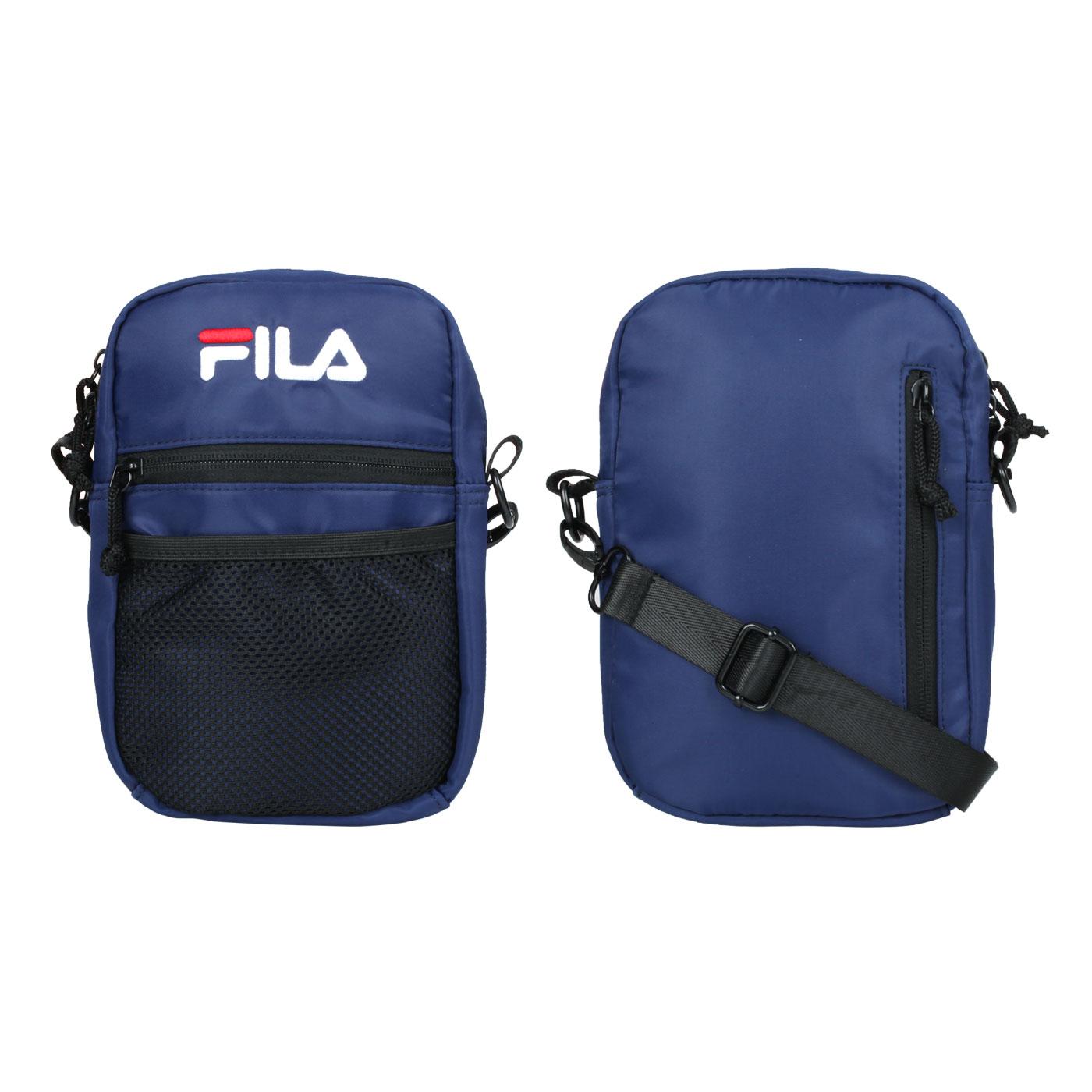 FILA 網袋夾層側背包 BMV-7009-NV