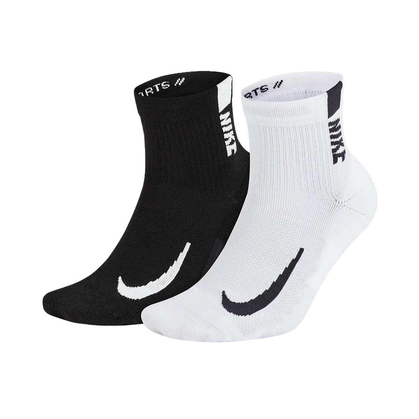 NIKE 運動短襪(二雙入) SX7556-906