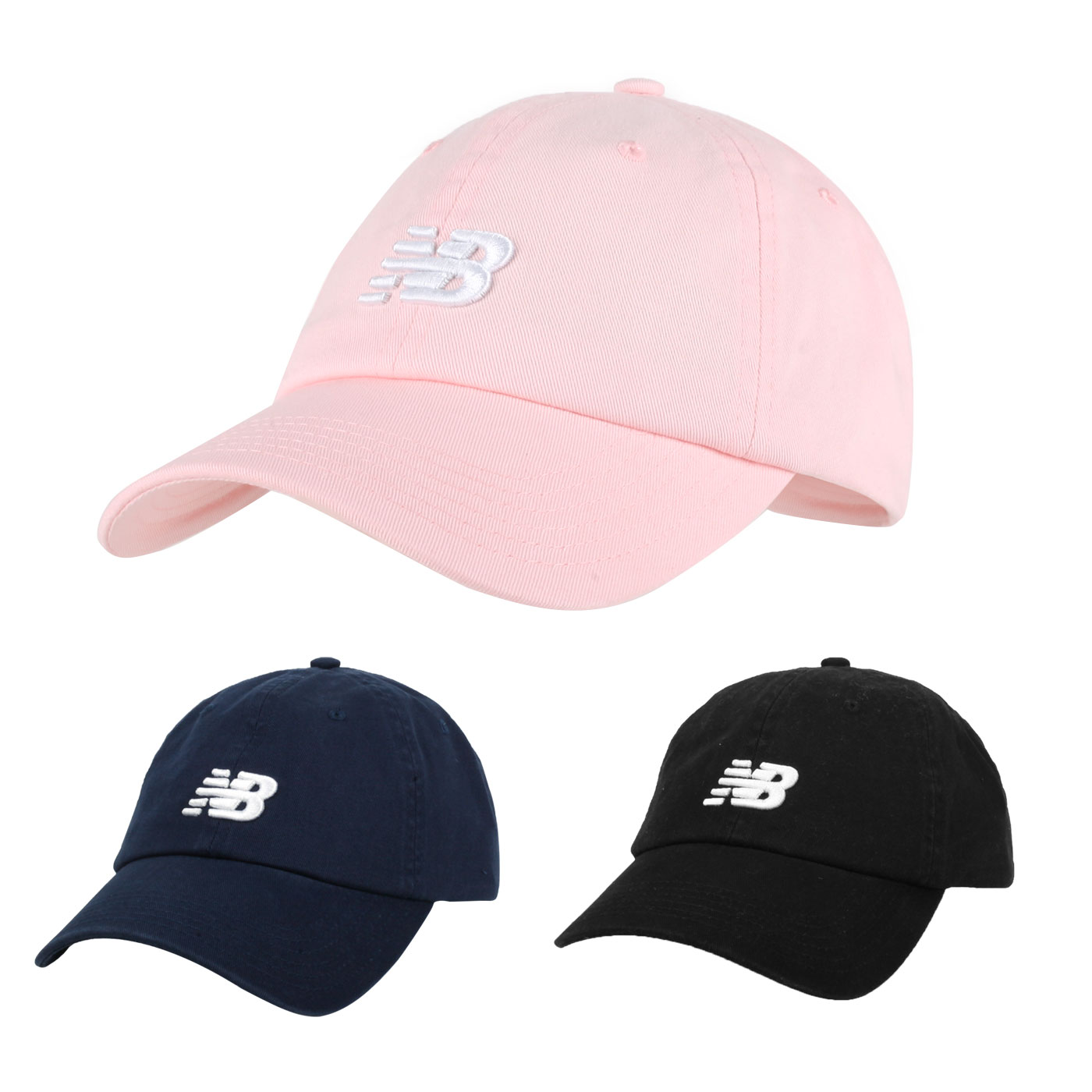 NEW BALANCE 棒球帽 LAH91014BK
