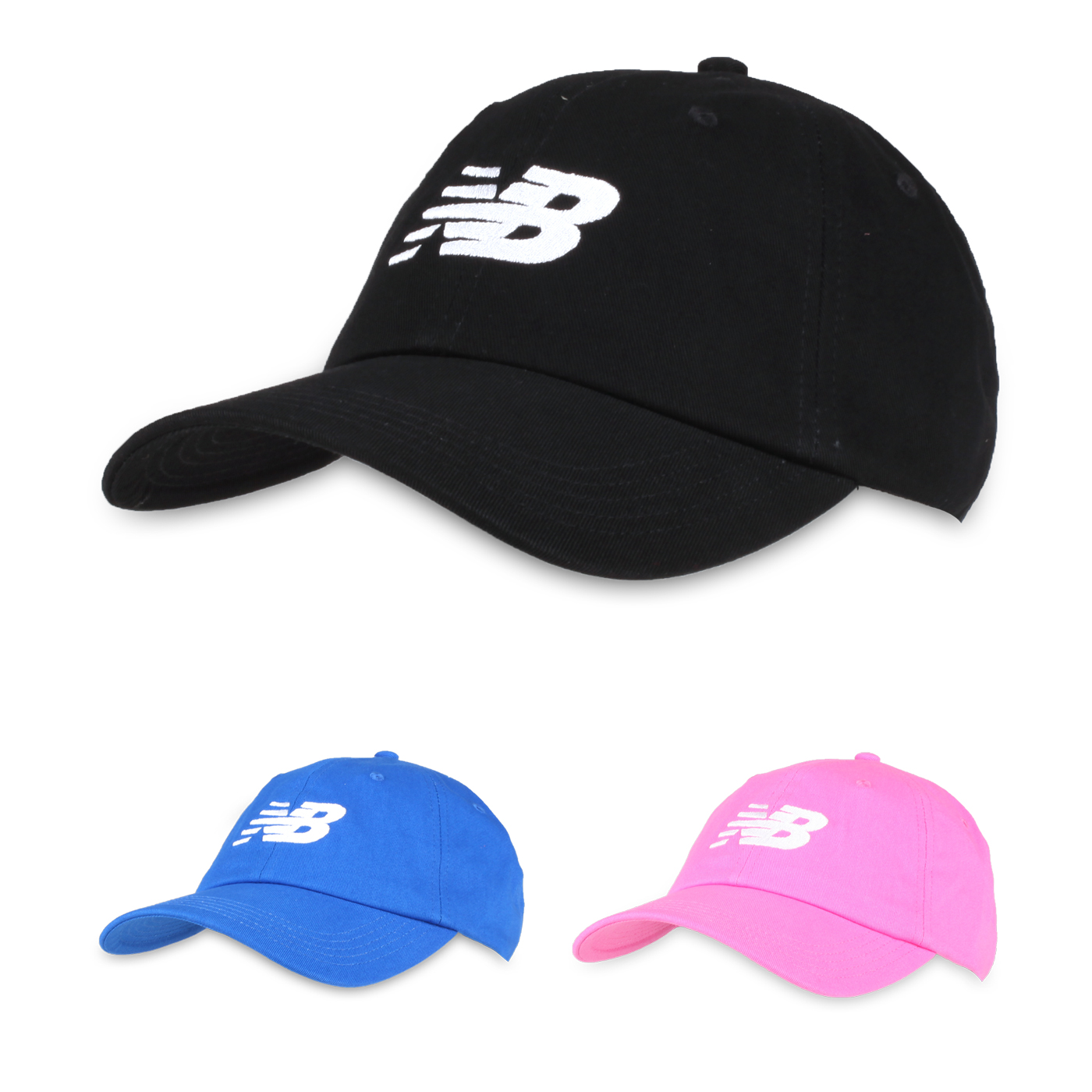 NEW BALANCE 棒球帽 LAH91017BK