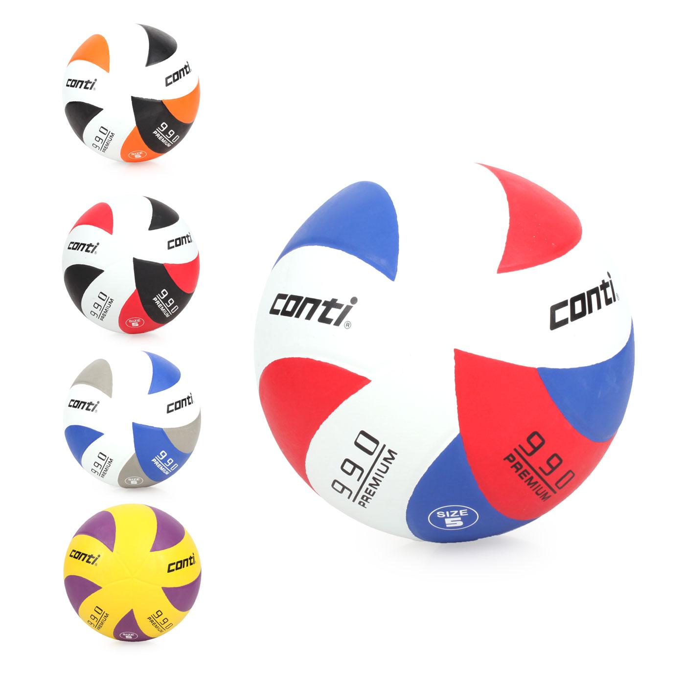 詠冠conti 5號頂級超世代橡膠排球 CONTIV990-5-WBKO