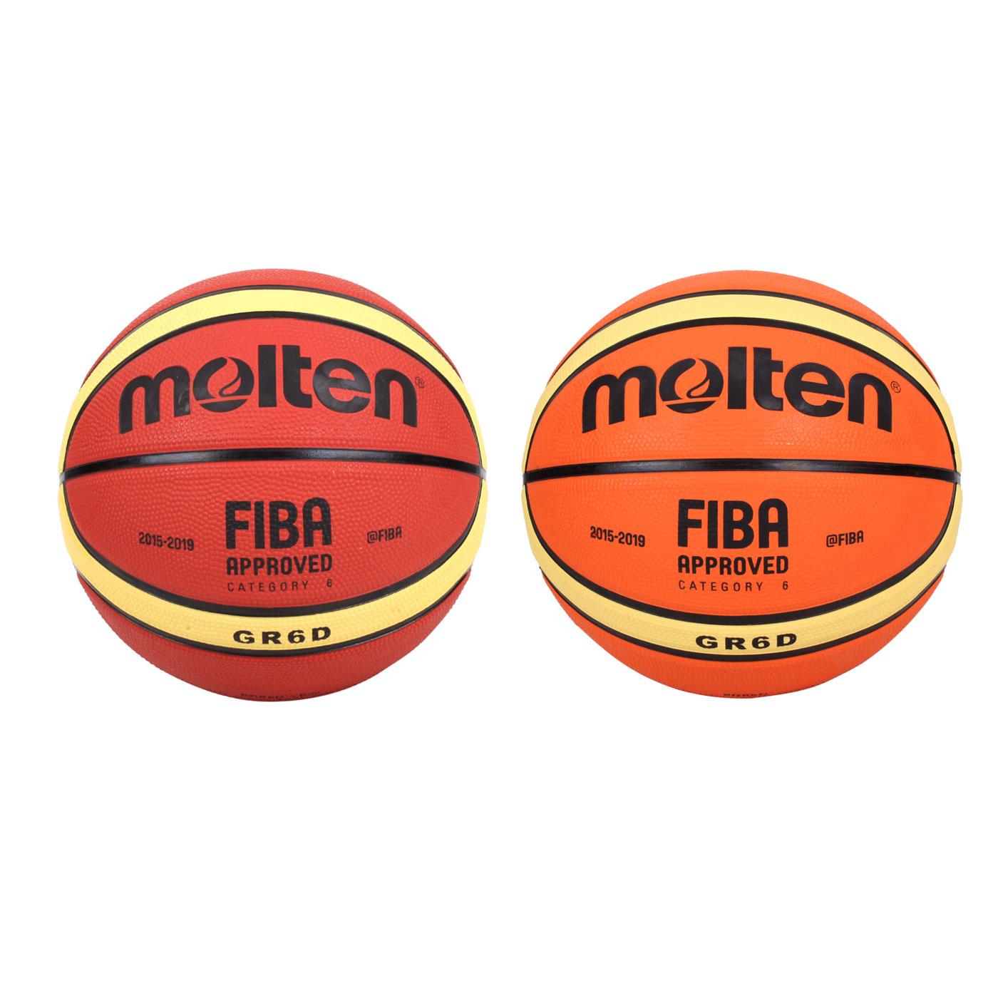 Molten #6橡膠深溝12片貼籃球 BGR6D