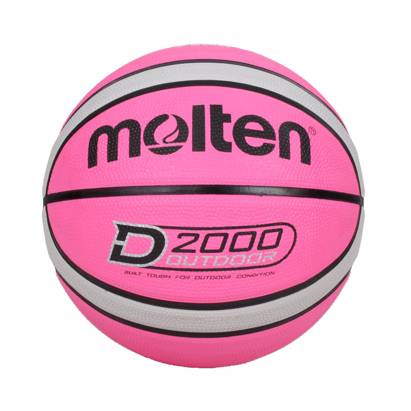 Molten #6橡膠深溝12片貼籃球 B6D2005-PH
