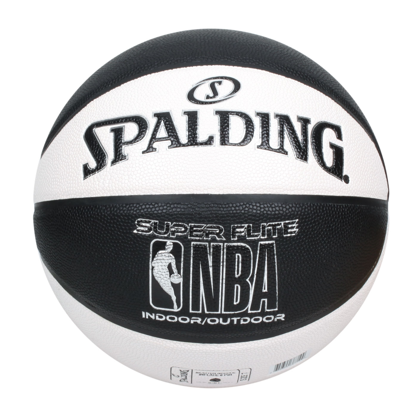 SPALDING NBA SUPER FLITE系列#7號合成皮籃球 SPA38710 SPA76351