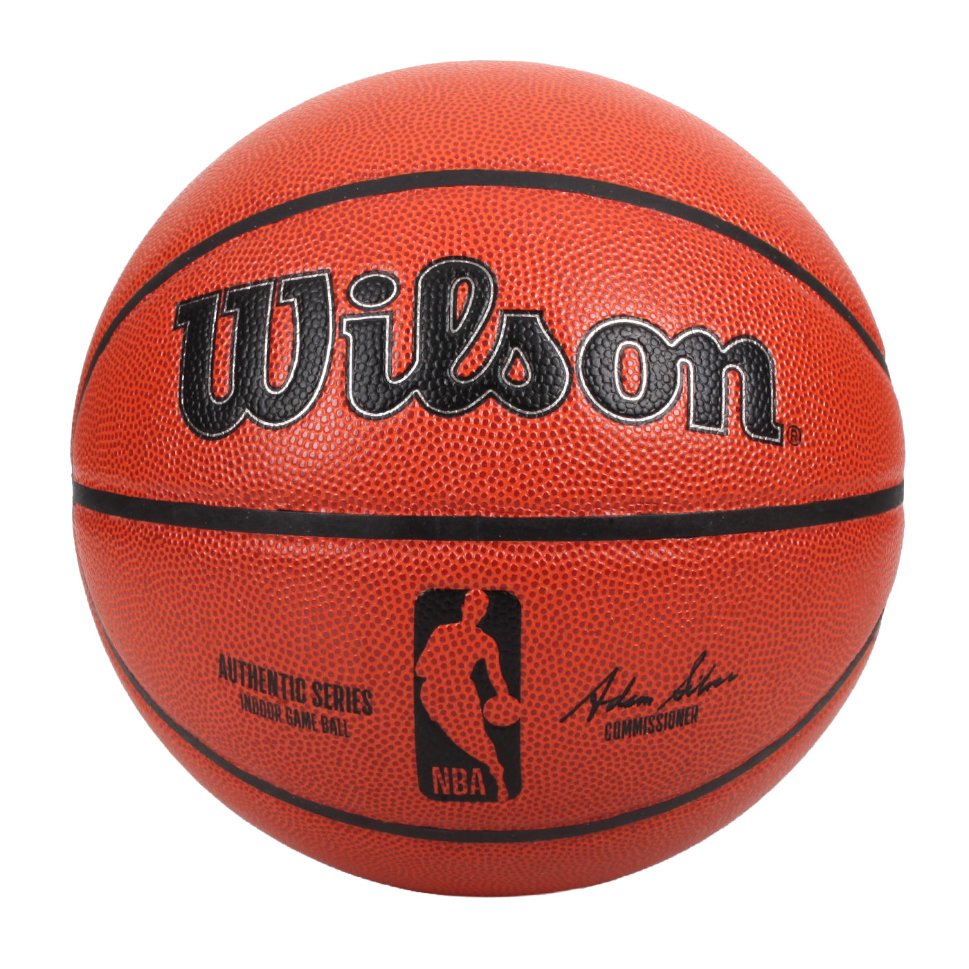 WILSON NBA AUTH系列室內合成皮籃球#7 WTB7100XB07