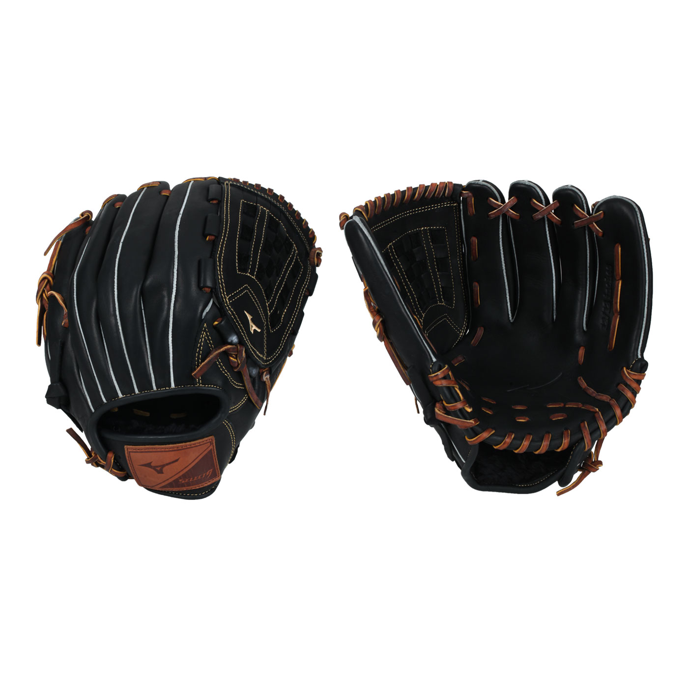 MIZUNO 棒球手套-右投 312848-R