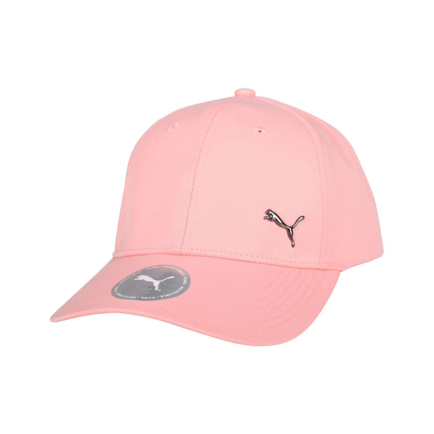 PUMA 基本系列棒球帽 02126939 - 粉橘黑