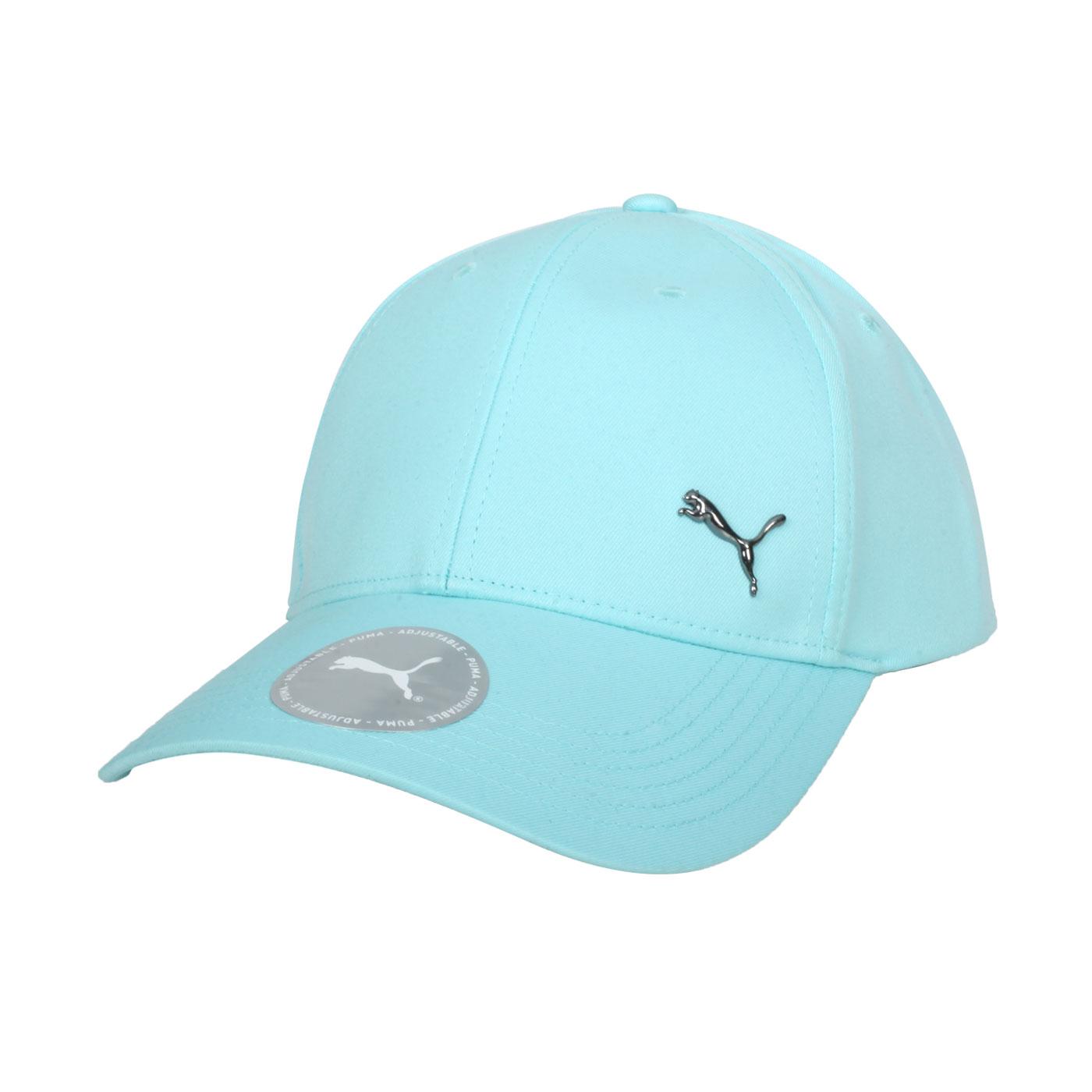 PUMA 基本系列棒球帽 02126942 - 湖水藍黑