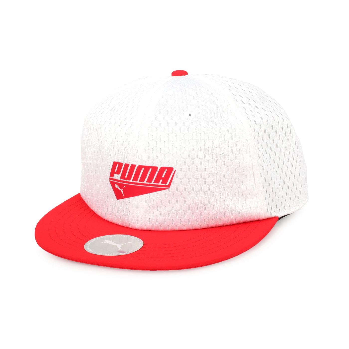 PUMA 基本系列蓋帽 02191303 - 白紅
