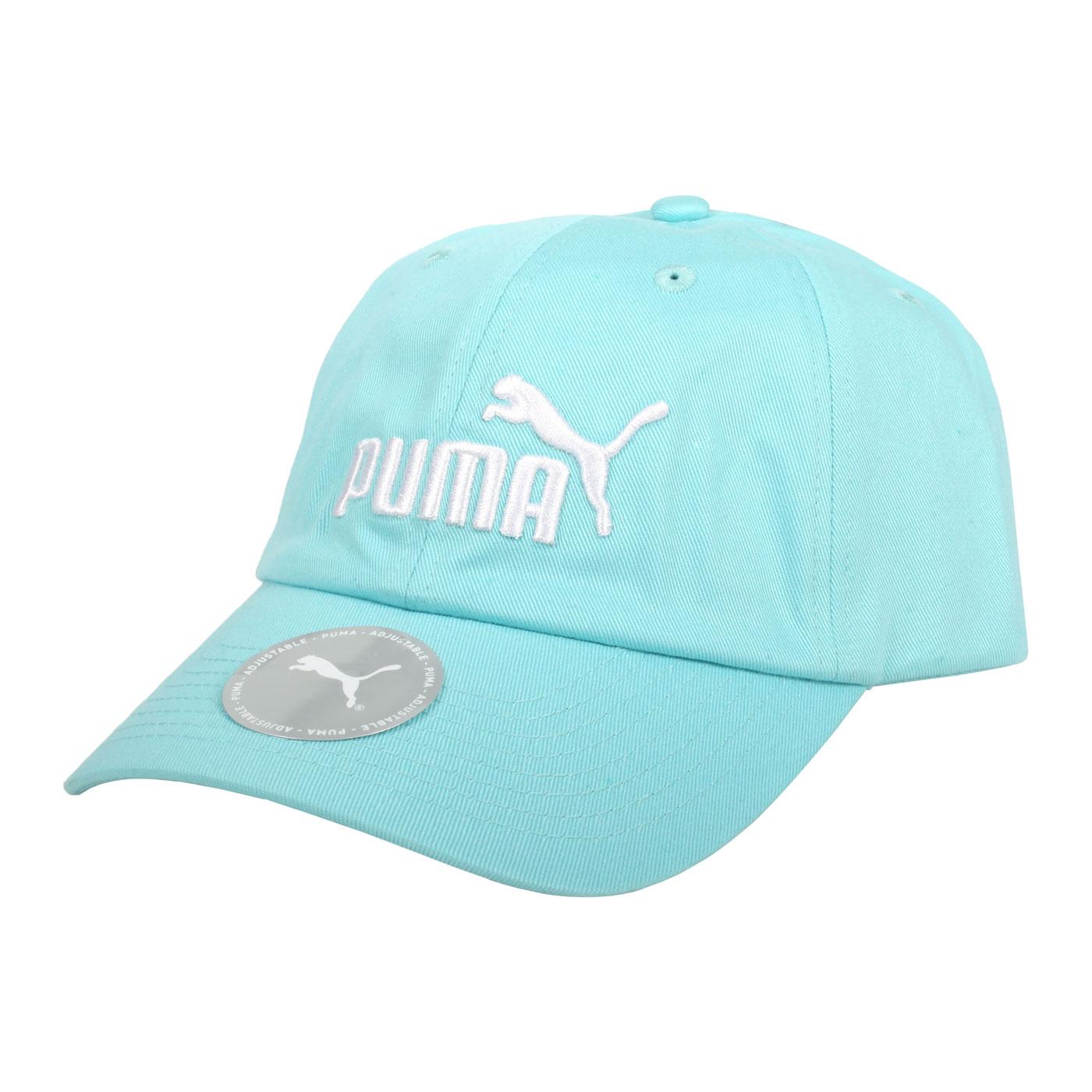 PUMA 基本系列棒球帽 02241638 - 粉藍白