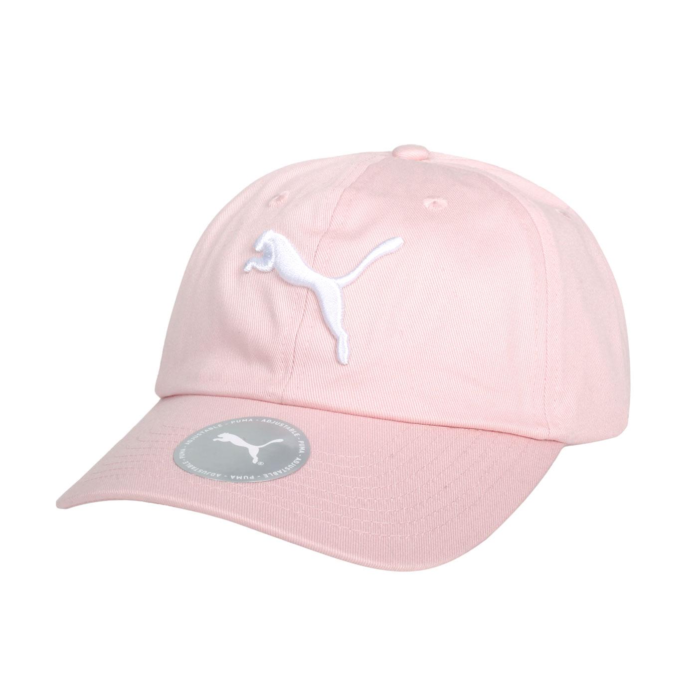 PUMA 基本系列棒球帽 02241665 - 粉白