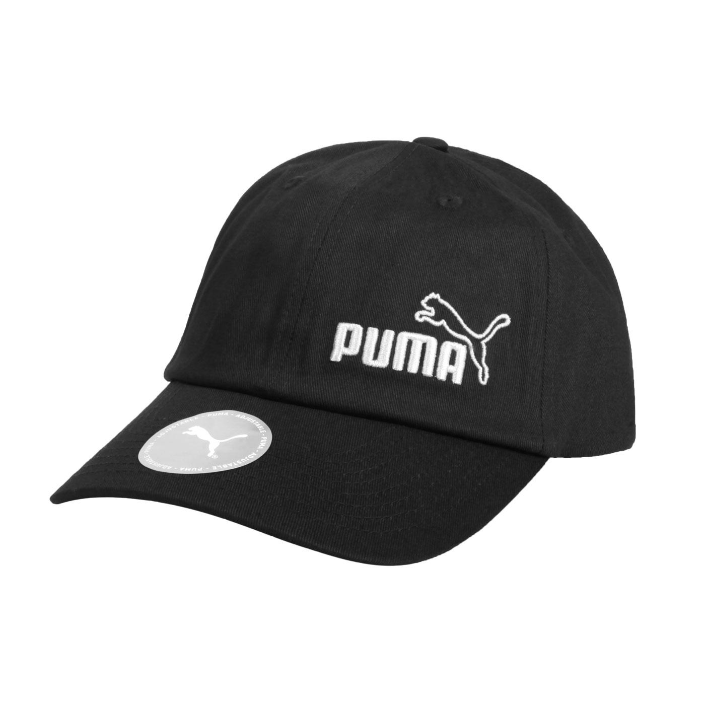 PUMA 基本系列棒球帽 02254325 - 黑白
