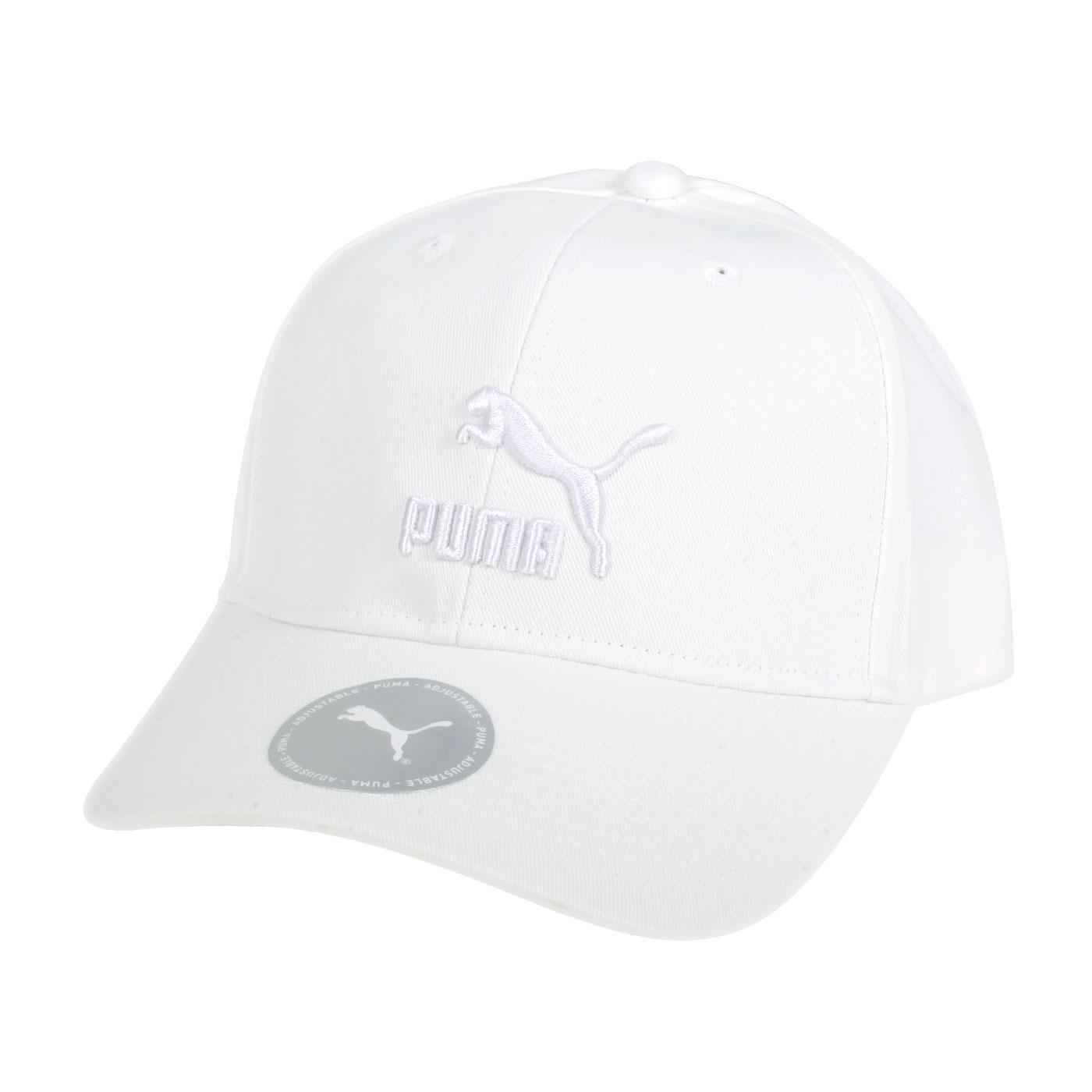 PUMA 流行系列棒球帽 02255412 - 白