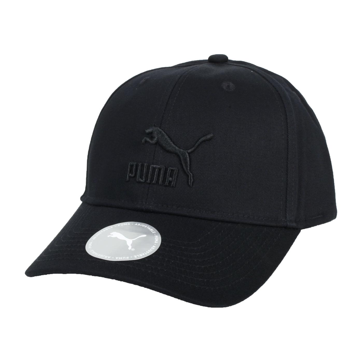 PUMA 流行系列棒球帽 02255415 - 黑