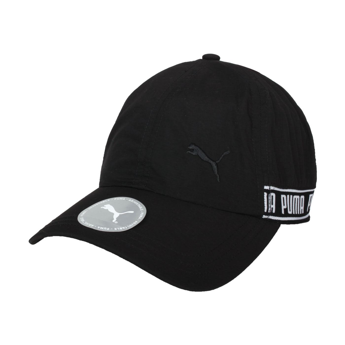 PUMA 棒球帽 02285401 - 黑白