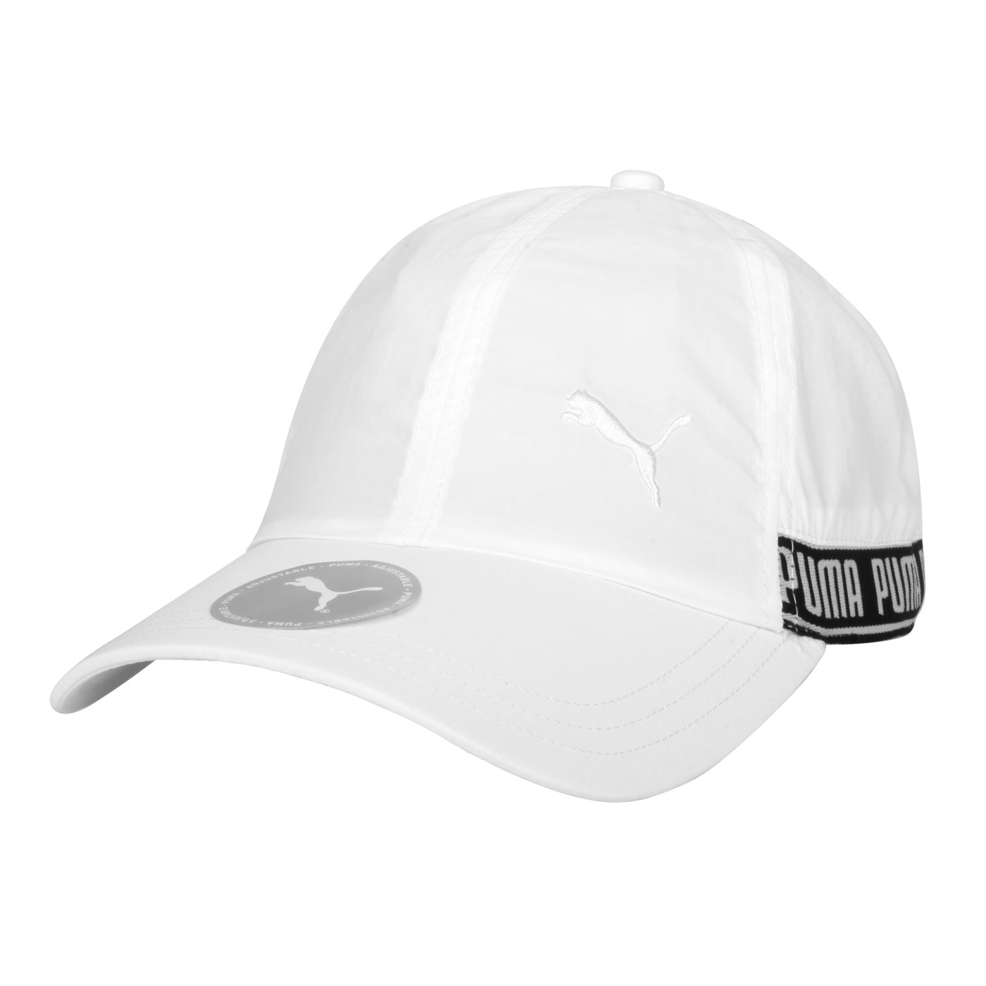 PUMA 棒球帽 02285402 - 白黑