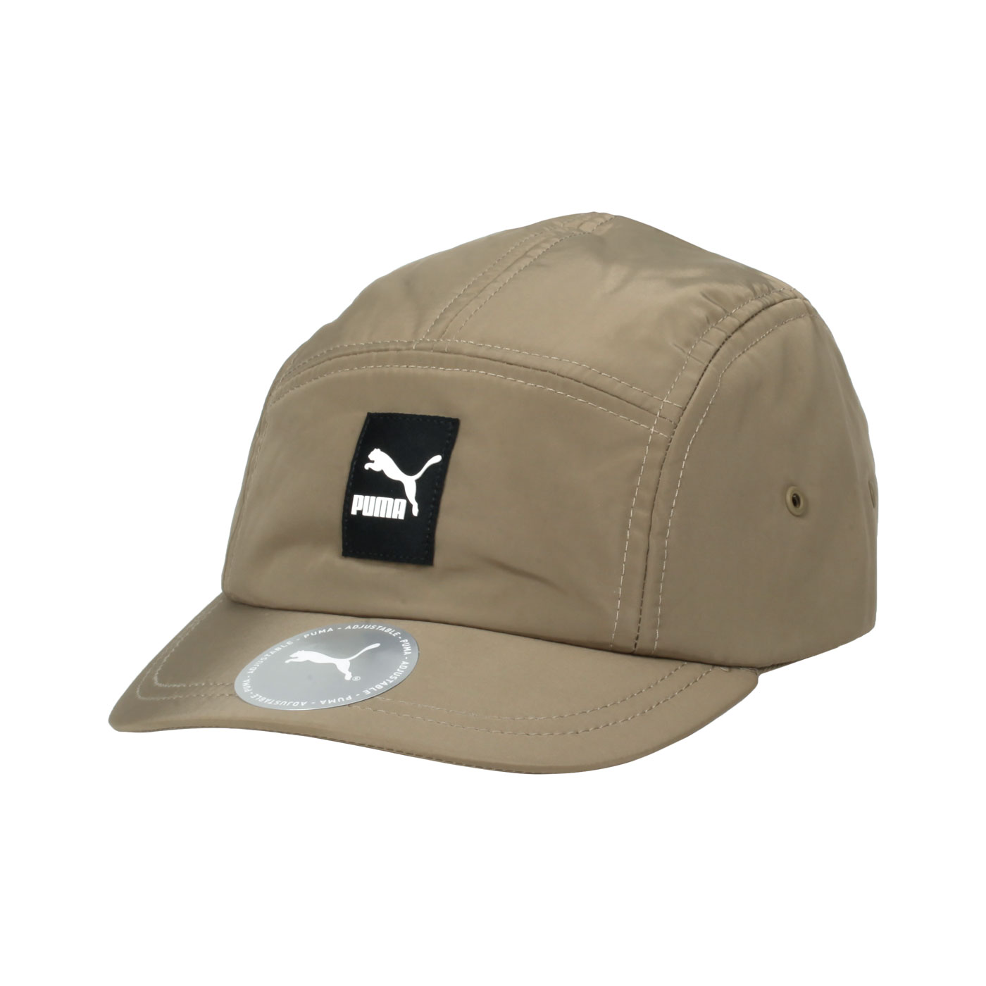 PUMA 流行系列短帽簷棒球帽 02344002 - 卡其黑