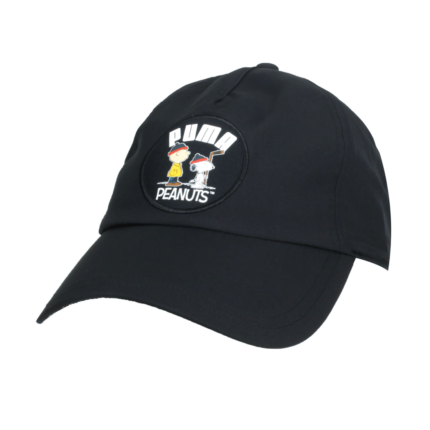 PUMA Peanuts棒球帽 02345801 - 黑白黃