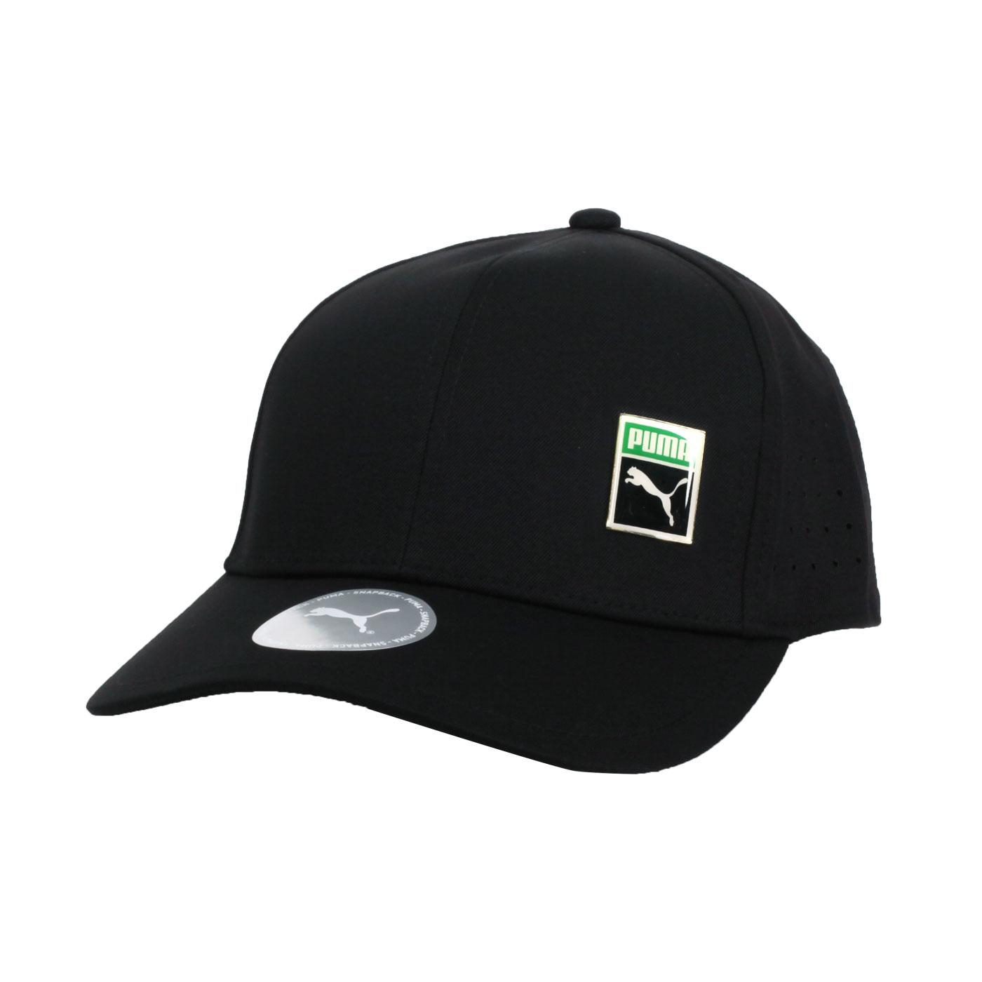 PUMA 流行系列棒球帽 02352901 - 黑白綠