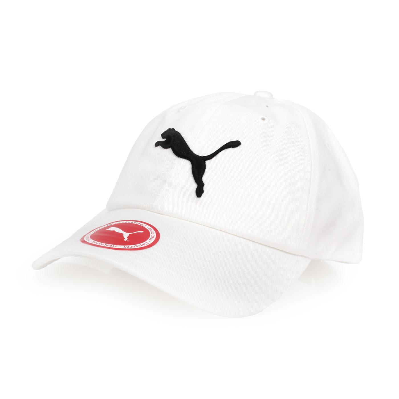 PUMA 基本系列棒球帽 05291902 - 白黑