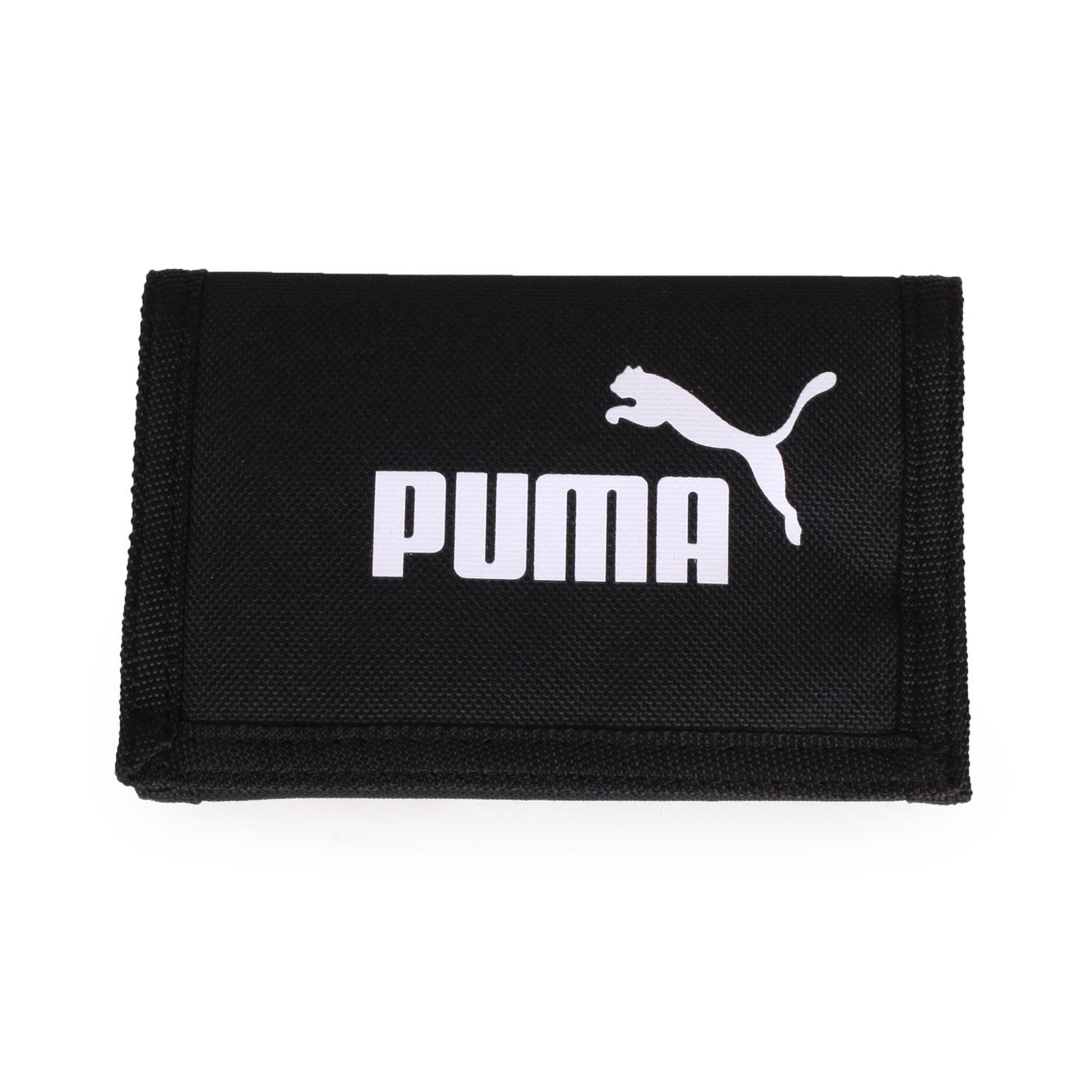PUMA Phase皮夾 07561701 - 黑白