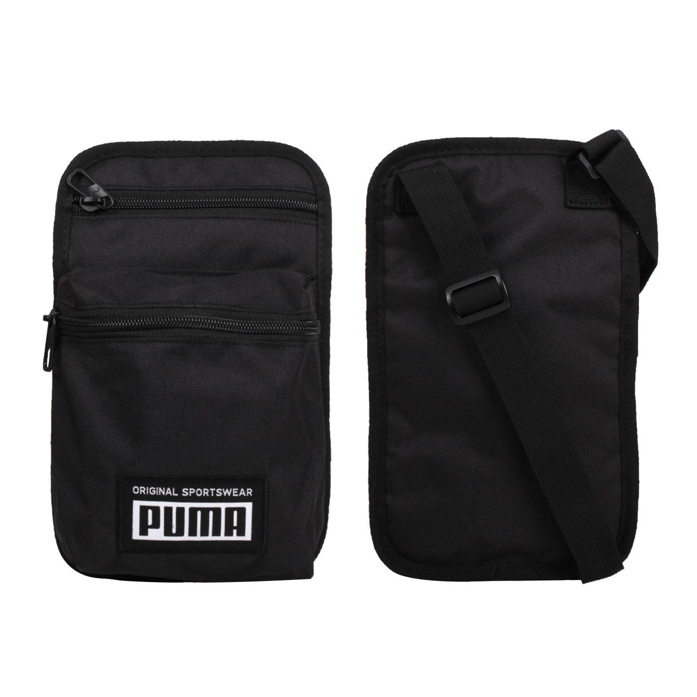 PUMA 側背小包 07730401 - 黑白