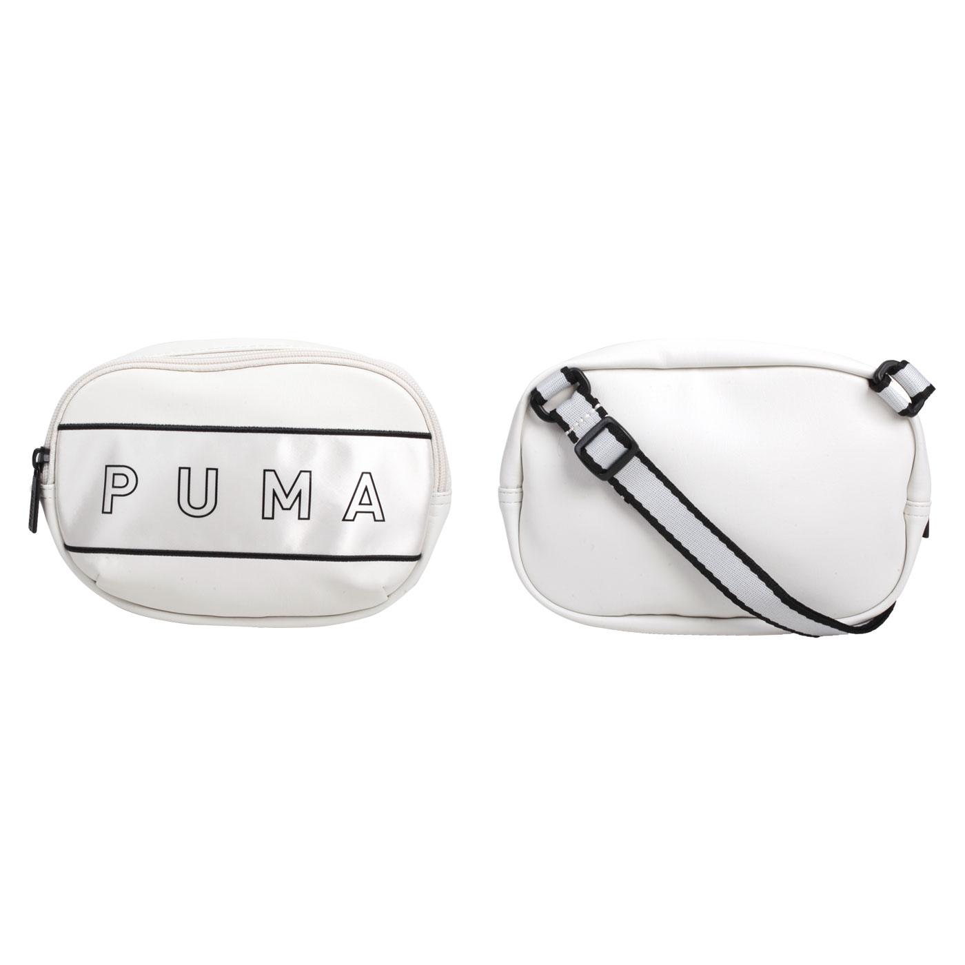 PUMA 側背小包 07739102 - 白黑