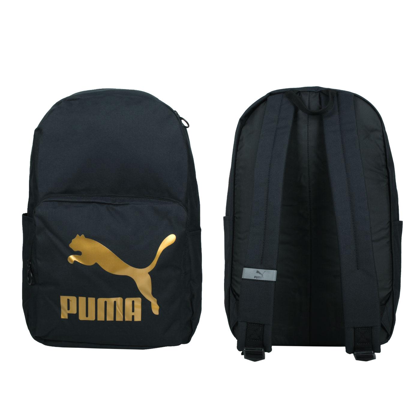 PUMA 大型後背包 07800401 - 黑金