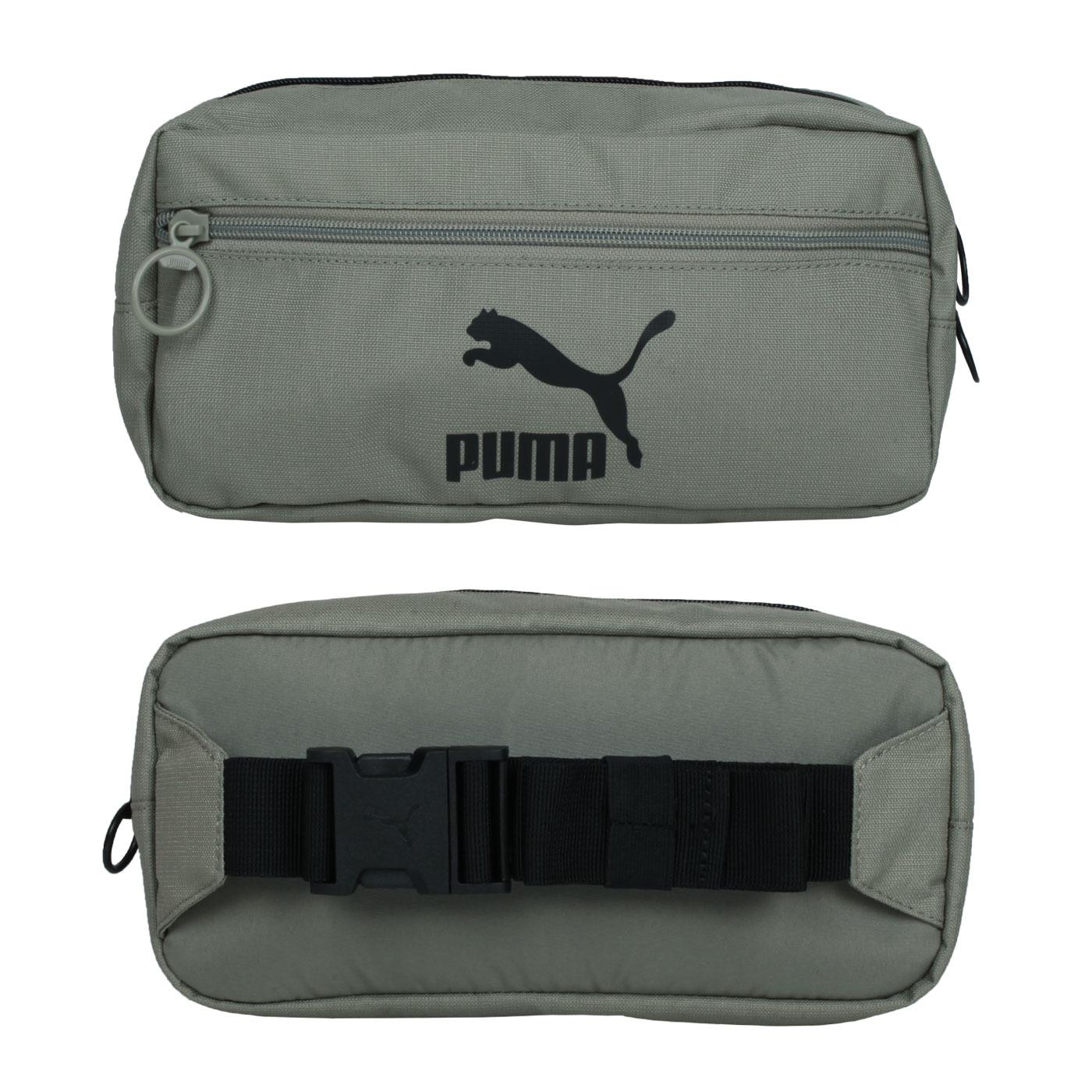 PUMA 中型腰包 07800603 - 綠黑