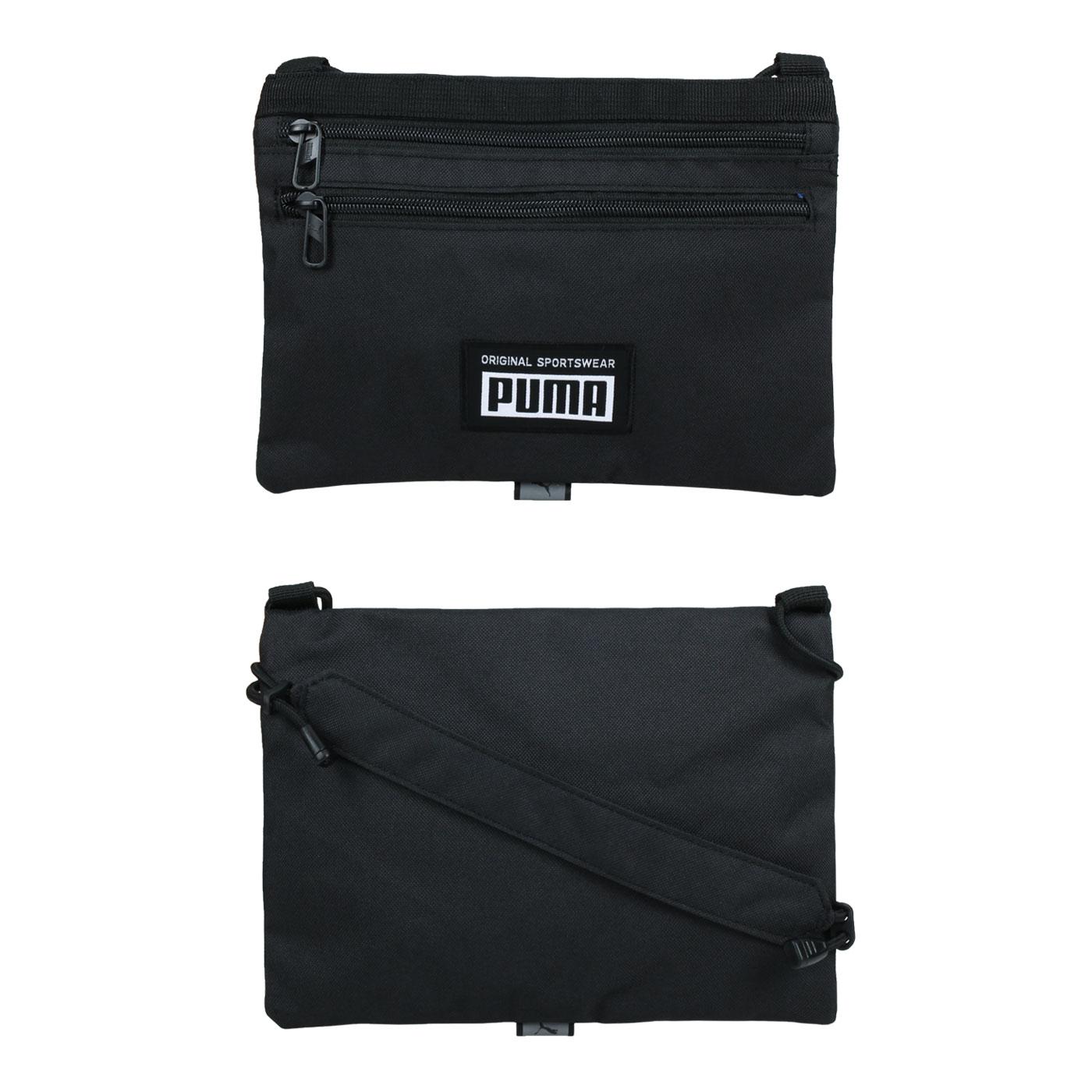 PUMA 隨身小包 07803201 - 黑白