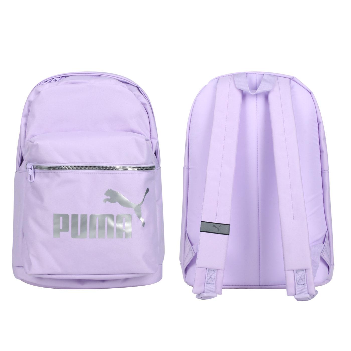 PUMA 後背包 07815007 - 紫銀