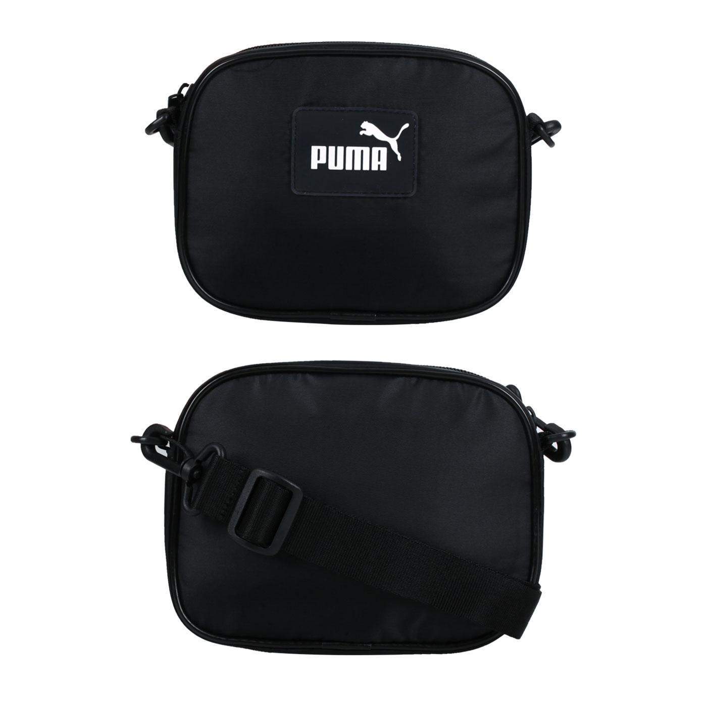 PUMA 小側背包 07834601 - 黑白