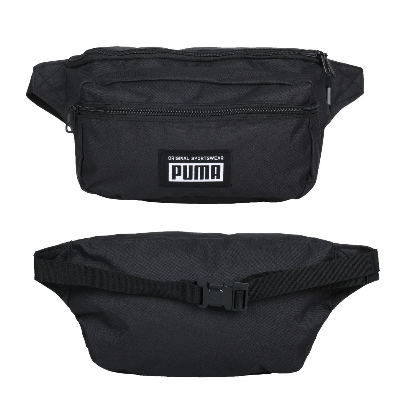 PUMA Academy大型腰包 07840001 - 黑白