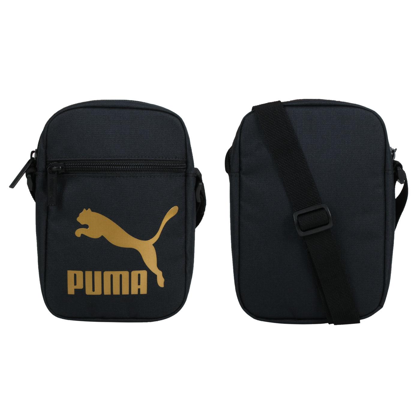 PUMA 小側背包 07848501 - 黑金