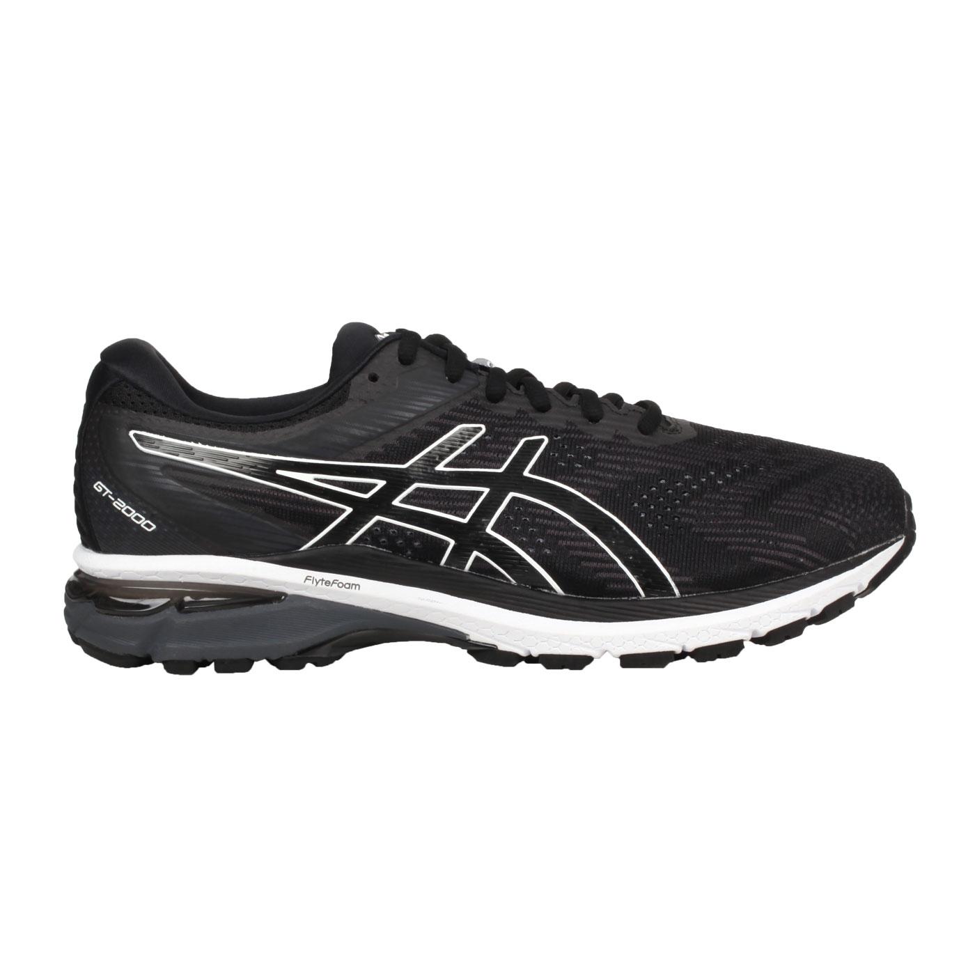 ASICS 男款慢跑鞋-4E  @GT-2000 8@1011A688-002 - 黑白