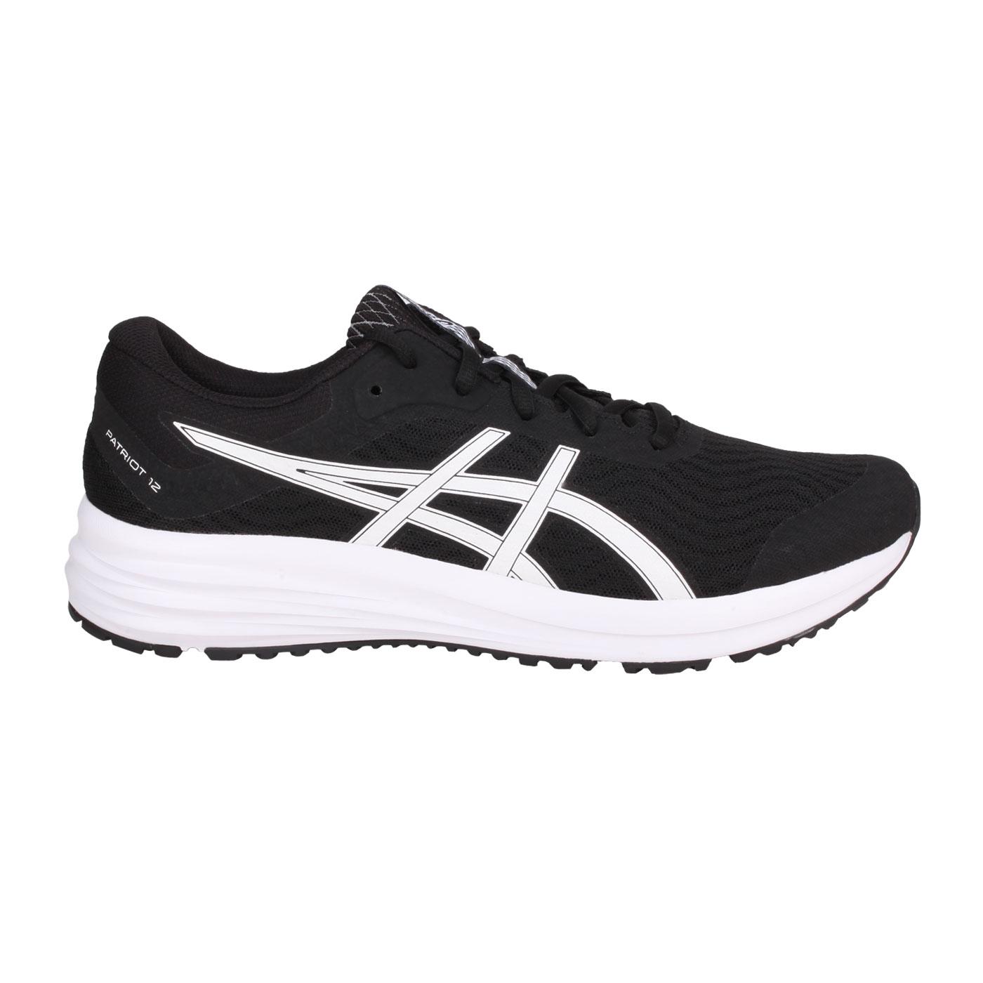 ASICS 男款慢跑鞋  @PATRIOT 12@1011A823-001 - 黑白