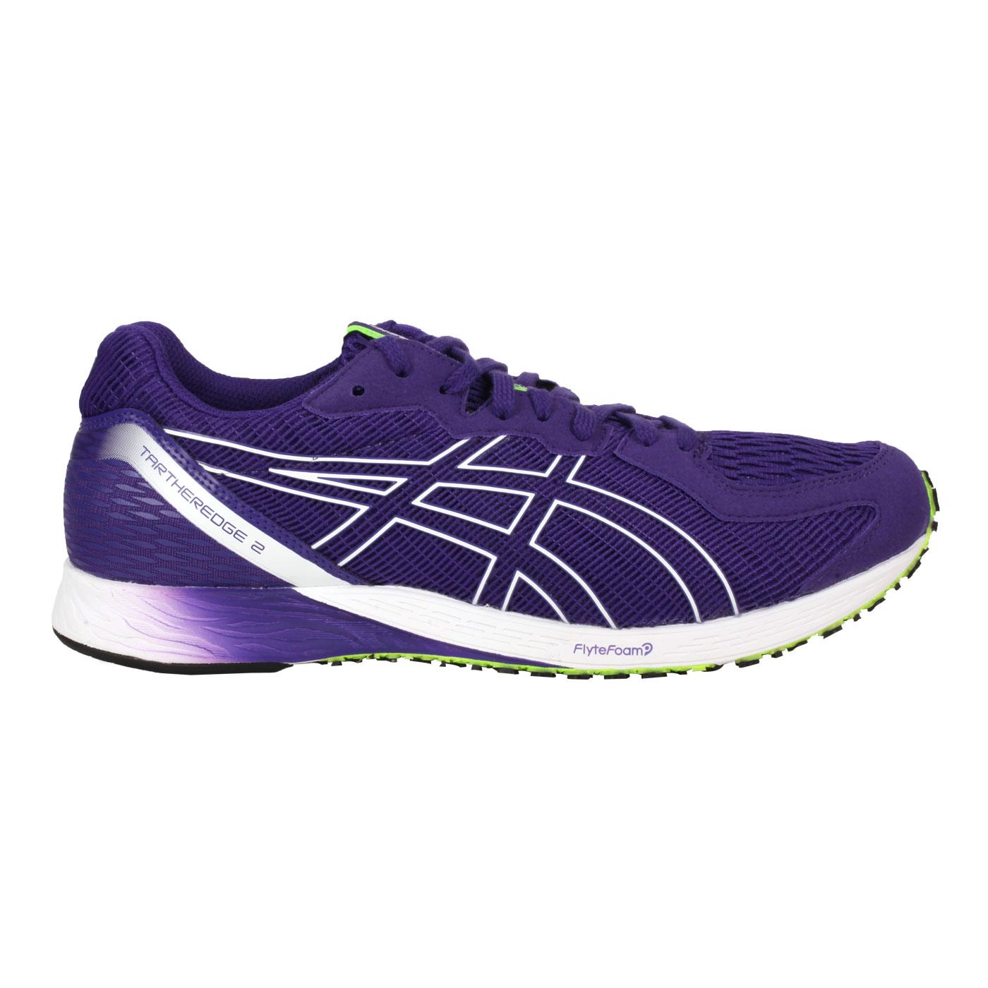 ASICS 男款路跑鞋  @TARTHEREDGE 2@1011A854-501 - 深紫螢光綠
