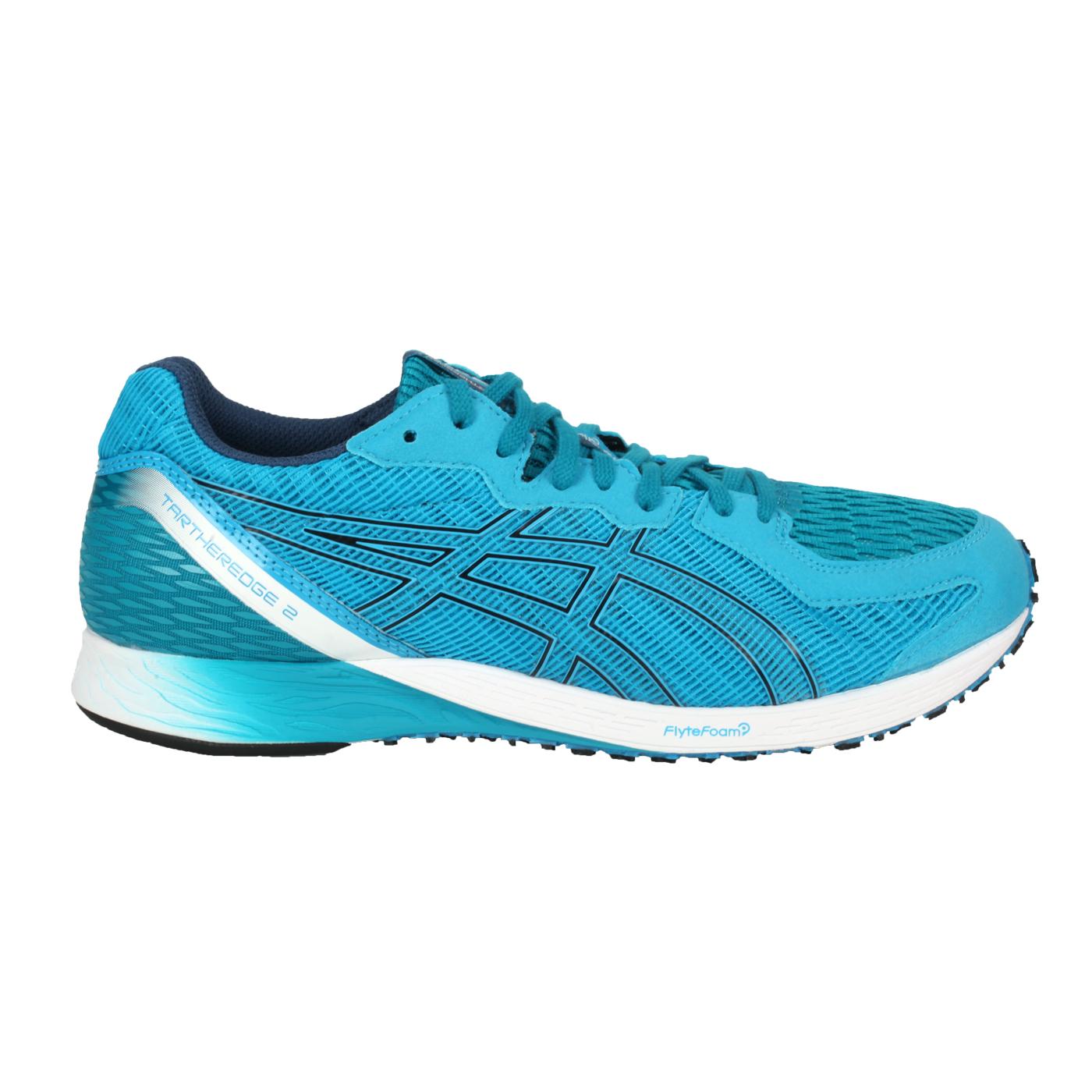 ASICS 男款慢跑鞋-2E  @TARTHEREDGE 2@1011A855-402 - 水藍白