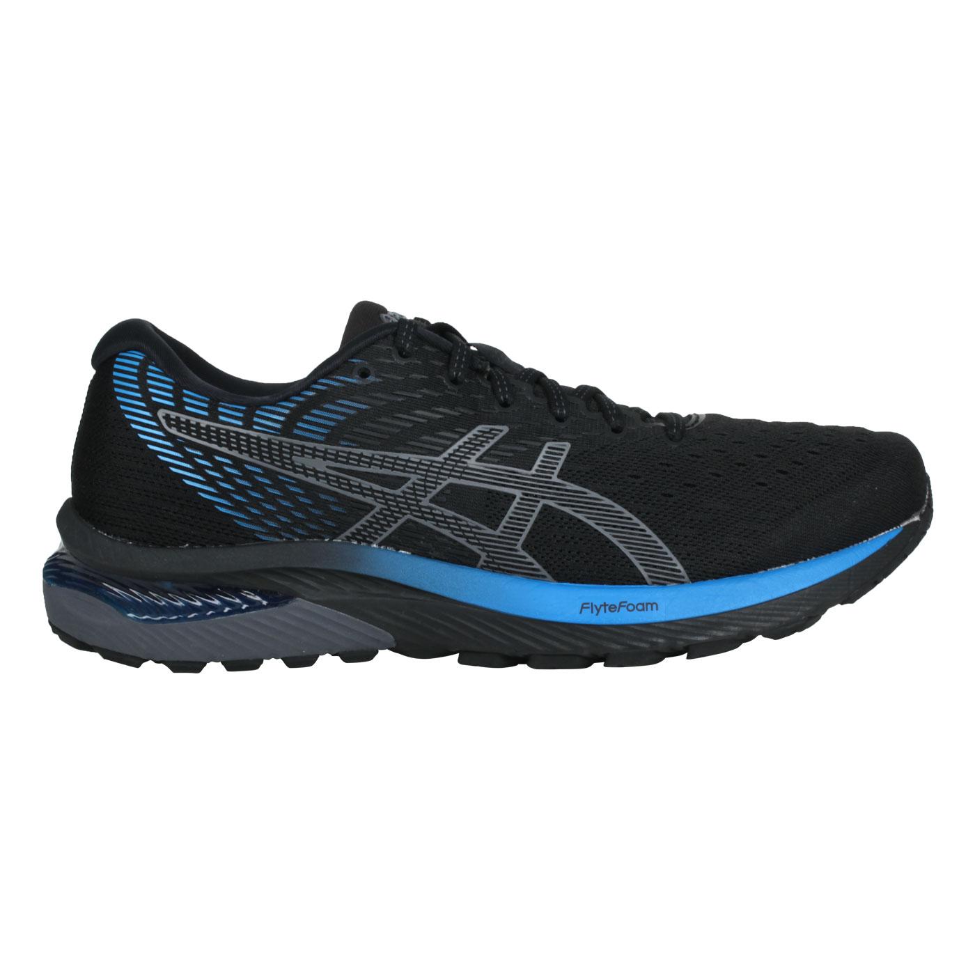 ASICS 男款慢跑鞋  @GEL-CUMULUS 22@1011A862-001 - 黑灰藍