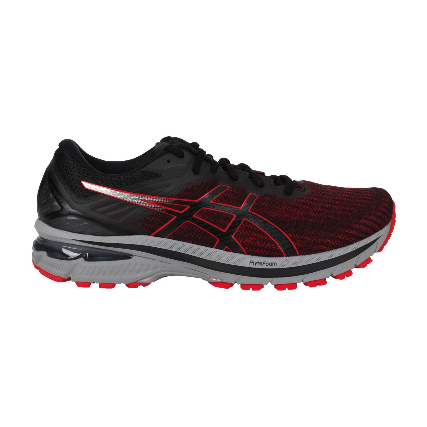 ASICS 男款慢跑鞋  @GT-2000 9@1011A983-005 - 黑紅灰