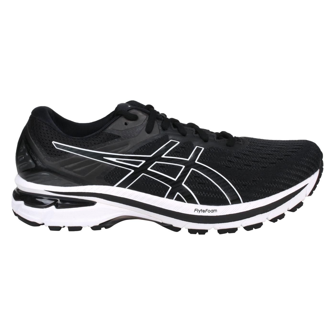 ASICS 男款慢跑鞋-4E  @GT-2000 9@1011A987-001 - 黑白