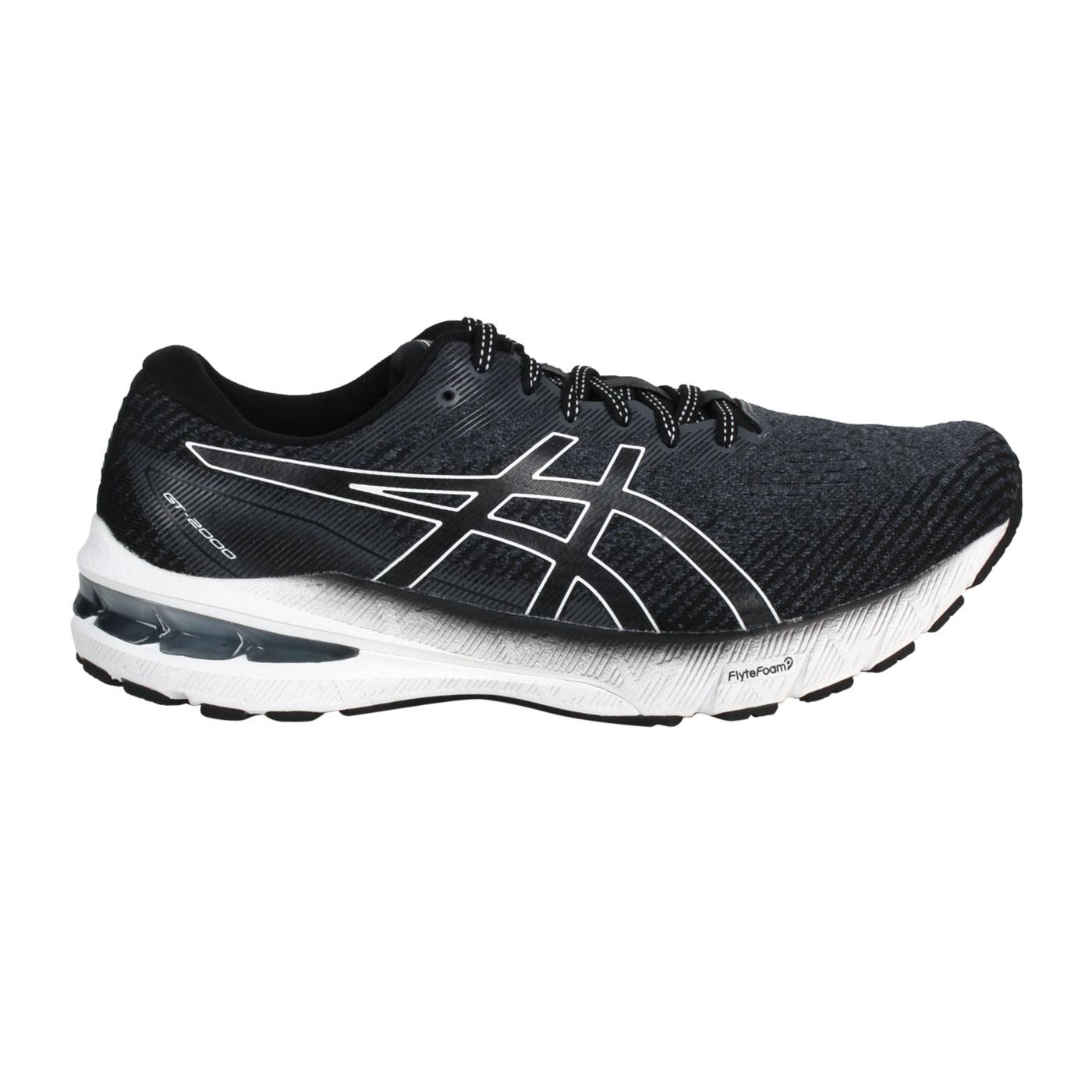 ASICS 男款慢跑鞋-4E  @GT-2000 10@1011B184-002 - 黑灰白