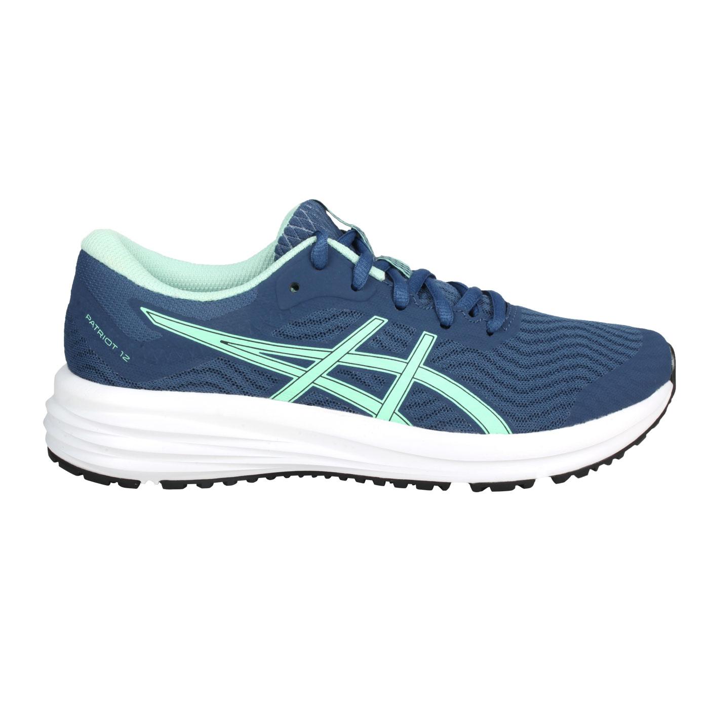 ASICS 女款慢跑鞋  @PATRIOT 12@1012A705-400 - 珊瑚藍粉綠