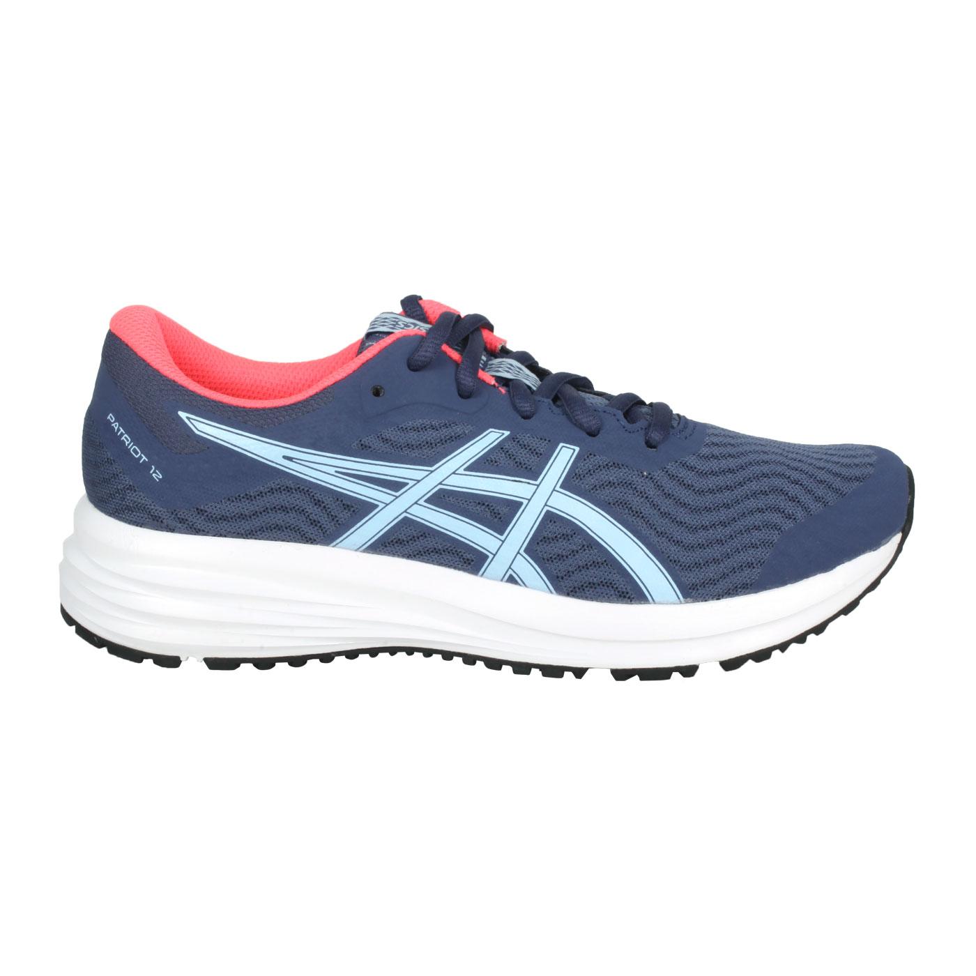 ASICS 女款慢跑鞋  @PATRIOT 12@1012A705-410 - 藍粉