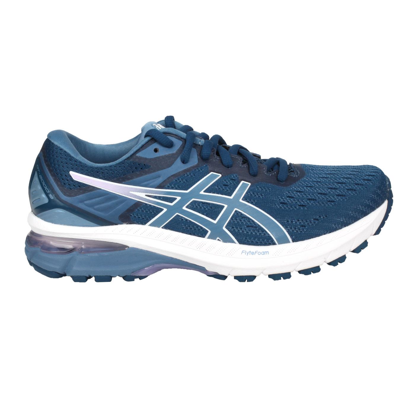 ASICS 女款慢跑鞋-WIDE  @GT-2000 9@1012A861-400 - 藍粉紅白