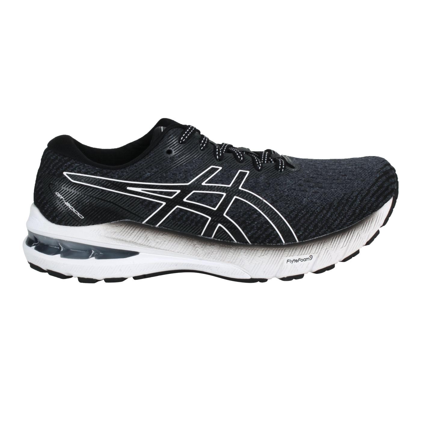 ASICS 女款慢跑鞋-2E  @GT-2000 10@1012B043-002 - 黑灰白