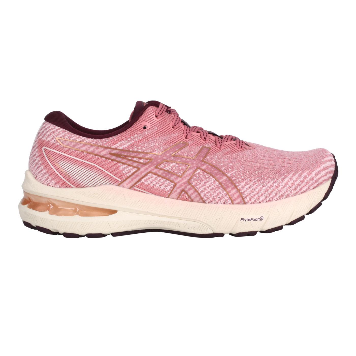 ASICS 女款慢跑鞋  @GT-2000 10@1012B045-701 - 玫紅紫金