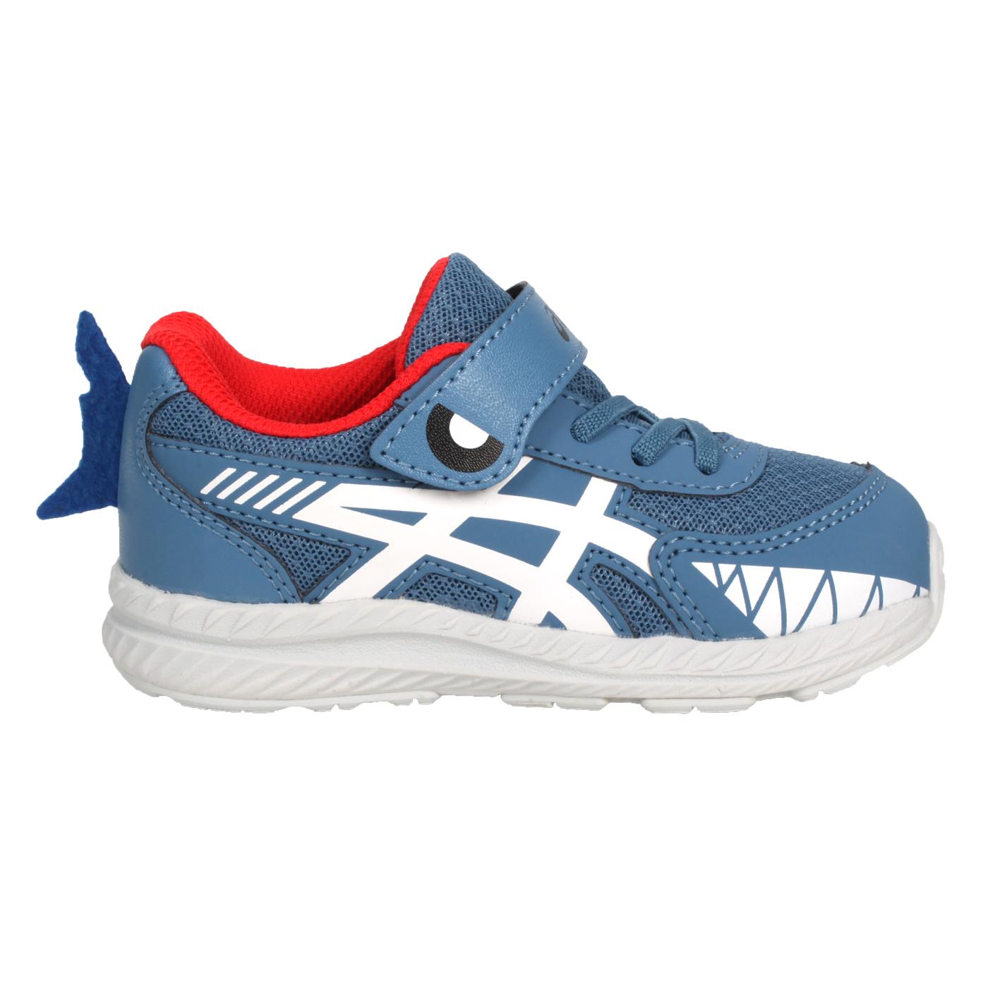 ASICS 小童慢跑鞋  @CONTEND 7 TS SCHOOL YARD@1014A202-404 - 墨藍白