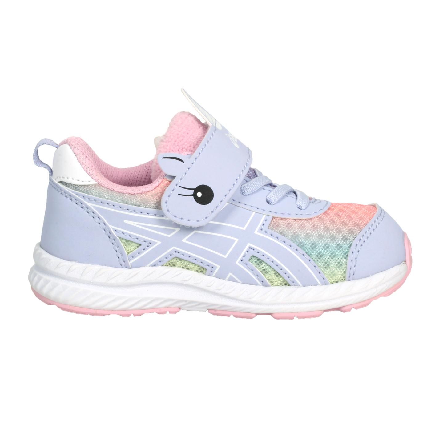 ASICS 小童慢跑鞋  @CONTEND 7 TS SCHOOL YARD@1014A202-405 - 紫粉橘黃藍