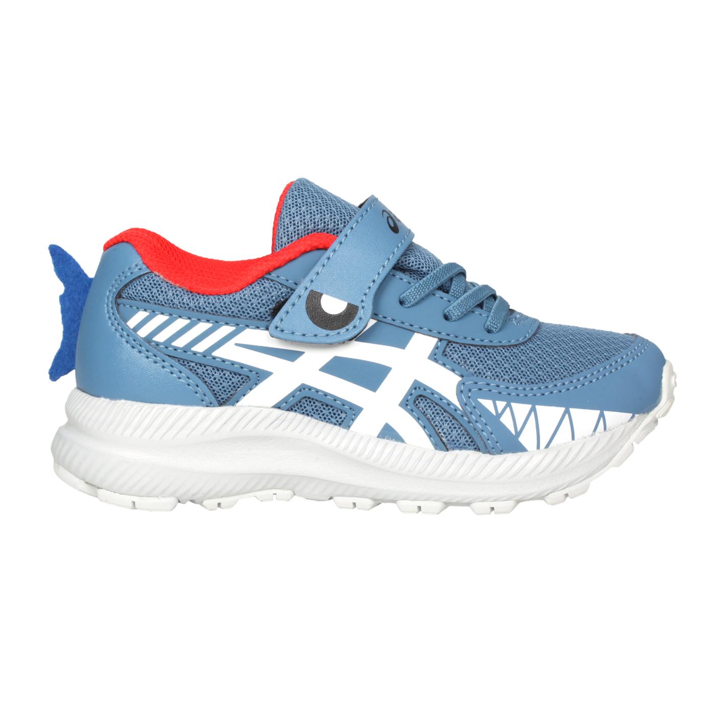ASICS 中童慢跑鞋  @CONTEND 7 PS SCHOOL YARD@1014A208-404 - 藍白橘